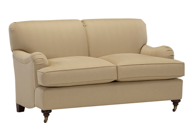 Simply Baker English Arm Loveseat - No. 6924L