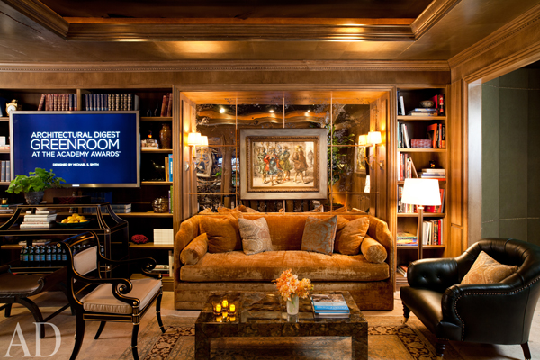 Michael S Smith Design of the Architectural Digest Greenroom