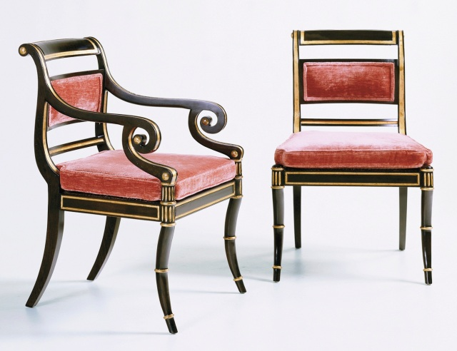 The Stately Homes Collection: Regency Chairs, Nos. 5198 and 5199