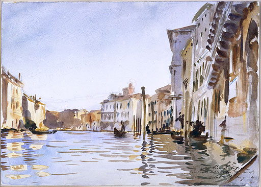 John Singer Sargent's The Grand Canal Venice