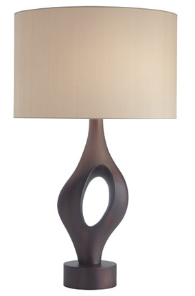Anneau Table Lamp - Cast Bronze