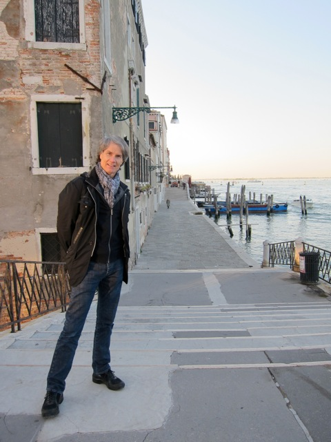 Thomas Pheasant in Venice