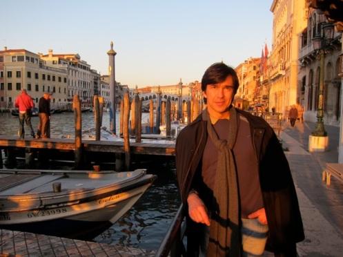 Juan Carlos Rincones in Venice