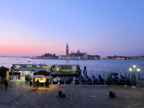 Sunrise view of the Church of San Giorgio Maggiore